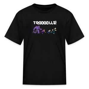 Troooolls! On the Run T-Shirt  - Kids' T-Shirt