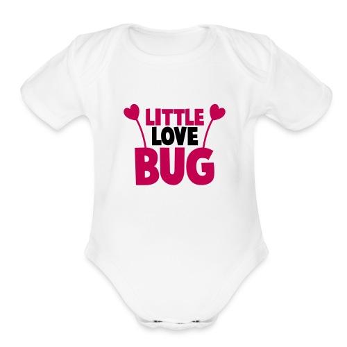 Little Love Bug - Organic Short Sleeve Baby Bodysuit