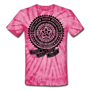 Sullivan Room Records Hippie - Unisex Tie Dye T-Shirt
