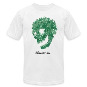 weed head - Men's T-Shirt by American Apparel