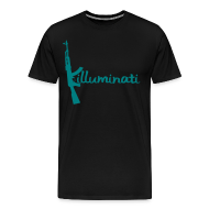 T-Shirts ~ Men's Premium T-Shirt ~ KUSHLAND KILLUMINATI - BLUE
