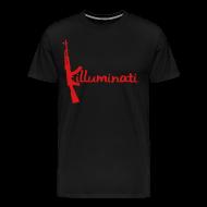 T-Shirts ~ Men's Premium T-Shirt ~ KUSHLAND KILLUMINATI - RED