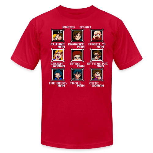 Select Your Hero - Men's T-Shirt by American Apparel