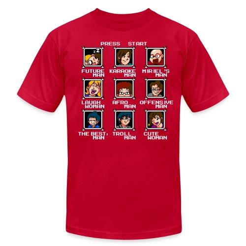 Select Your Hero - Men's Jersey T-Shirt