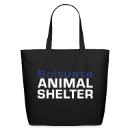 Bags & backpacks ~ Eco-Friendly Cotton Tote ~ Scituate Animal Shelter Tote