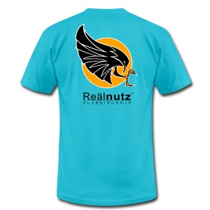Real Nutz Sunrise - Men's T-Shirt by American Apparel