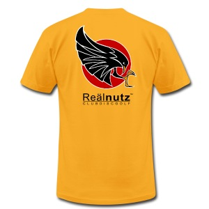 Real Nutz Sunset Black - Men's T-Shirt by American Apparel