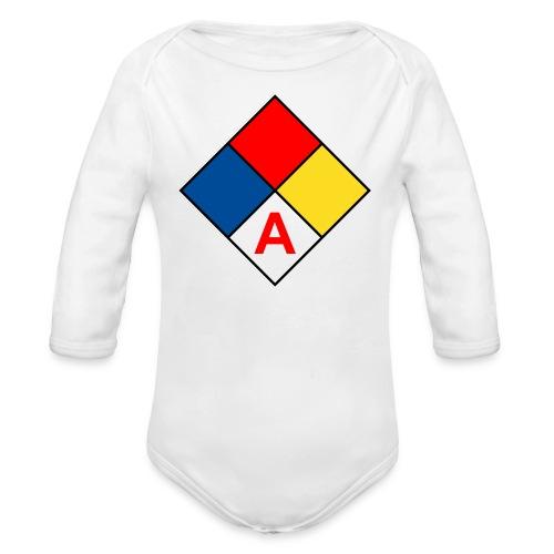 DTLA Artists-in-Residence Baby Long-sleeve One-piece - Organic Long Sleeve Baby Bodysuit