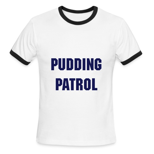 Men, Penny Tee: pudding patrol - Men's Ringer T-Shirt