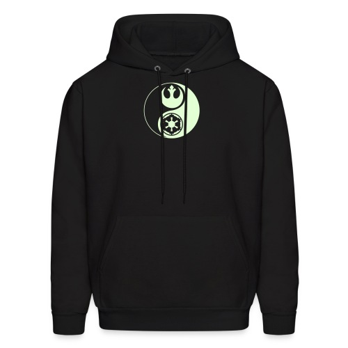 Star Wars Yin Yang Hoodie (Glow in the Dark) - Men's Hoodie