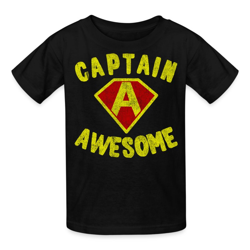 Captain Awesome Kids T-Shirt - Kids' T-Shirt