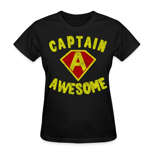 Captain Awesome Women's T-Shirt - Women's T-Shirt