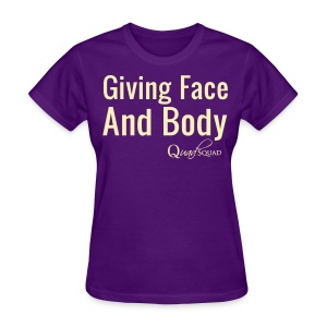 Giving Face - Women's T-Shirt