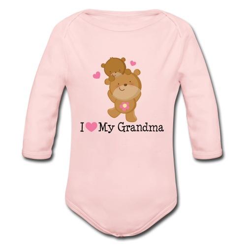 Organic Long Sleeve Baby Bodysuit