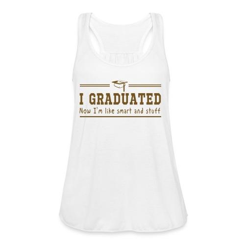Glitter Grad Tank - Women's Flowy Tank Top by Bella