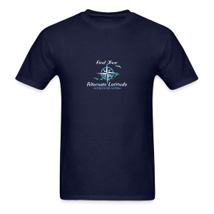 Mens Vintage Compass T - Navy - Men's T-Shirt