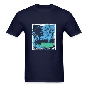 Mens  Island Time T - Navy - Men's T-Shirt