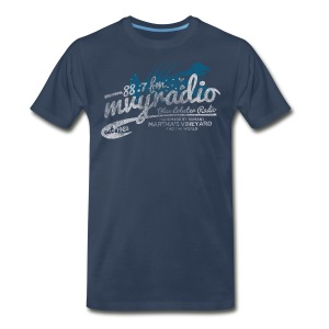 88.7 fm - Men's Premium T-Shirt