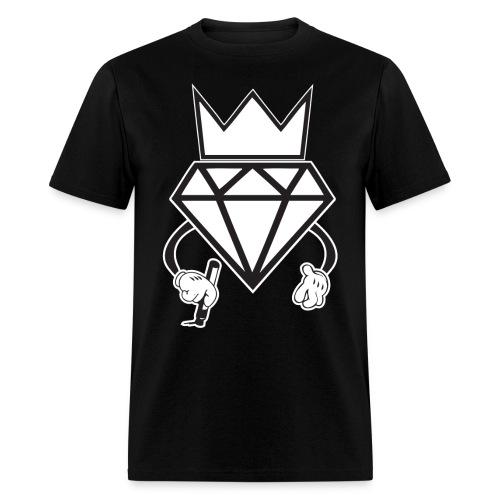 Diamond Crown graffit - Men's T-Shirt