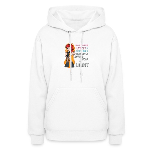 Darkness Should Fear... (Women's Hoodie / No Back) - Women's Hoodie