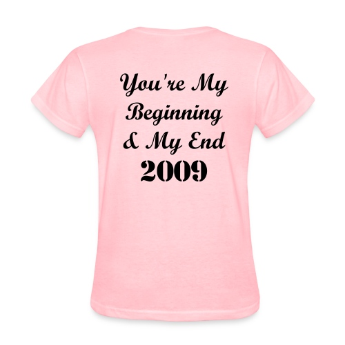 Inmate Number/You're My Beginning & My End - Women's T-Shirt