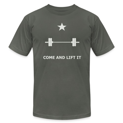 Come and Lift it Mens Slim Fit - Men's  Jersey T-Shirt
