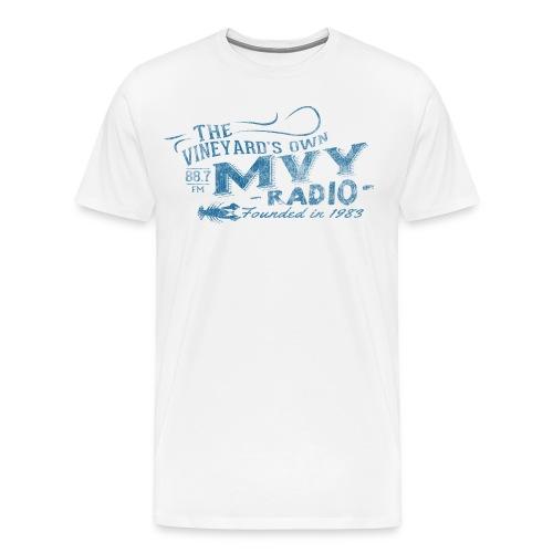 The Vineyard's Own -- 88.7 mvy - Men's Premium T-Shirt