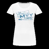 Women's T-Shirts ~ Women's Premium T-Shirt ~ The Vineyard's Own -- 88.7 mvy