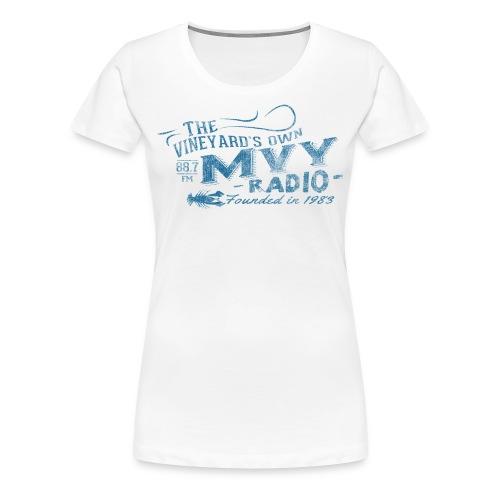 The Vineyard's Own -- 88.7 mvy - Women's Premium T-Shirt