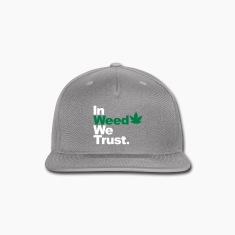 In Weed we trust Caps