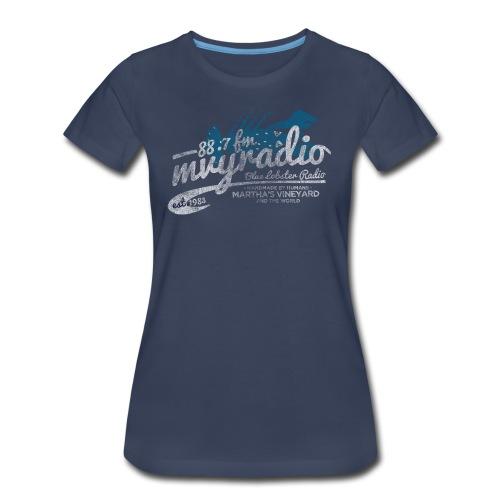 88.7 mvyradio is back on the air - Women's Premium T-Shirt