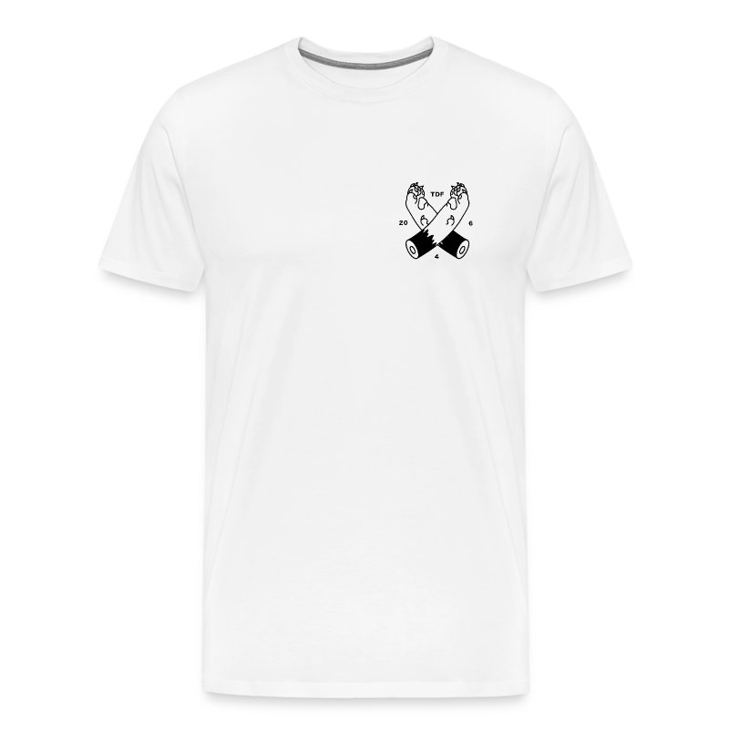 CROSSPAWS T-Shirt - Men's Premium T-Shirt