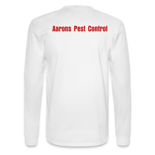 Aaron Pest Control shirt - Men's Long Sleeve T-Shirt
