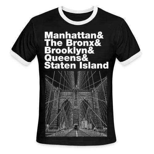 New York  - Men's Ringer T-Shirt