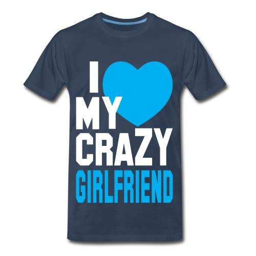 I Love My Gf - Men's Premium T-Shirt
