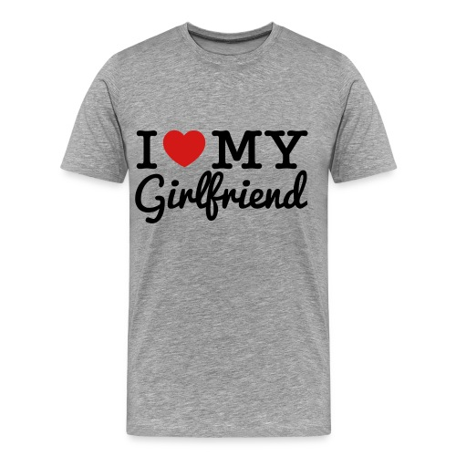 I Love My Gf - Men's Premium T-Shirt