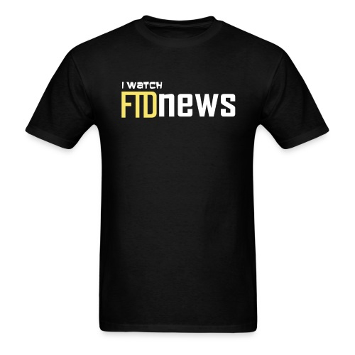 i-watch-ftdnews.png - Men's T-Shirt