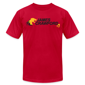 James Crawford - Men's T-Shirt by American Apparel