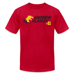 Andrew Vlahov - Men's T-Shirt by American Apparel