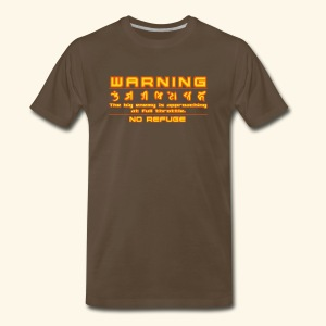 W A R N I N G - Men's Premium T-Shirt