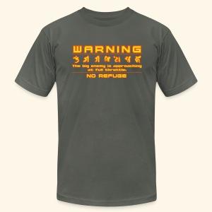 W A R N I N G - Men's Fine Jersey T-Shirt