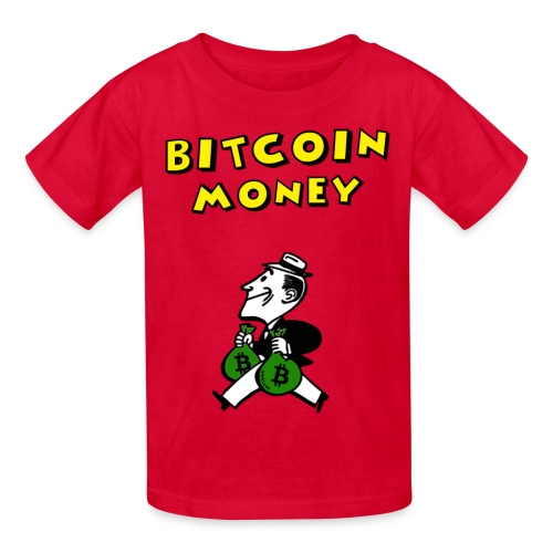 Kids Retro Bitcoin T Shirt - Kids' T-Shirt