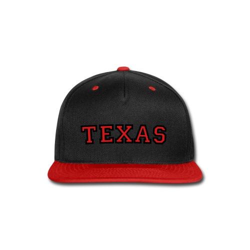 Texas - Snap-back Baseball Cap