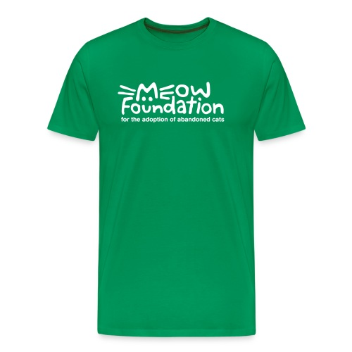 MEOW Foundation Fitted Tee - Men's Premium T-Shirt