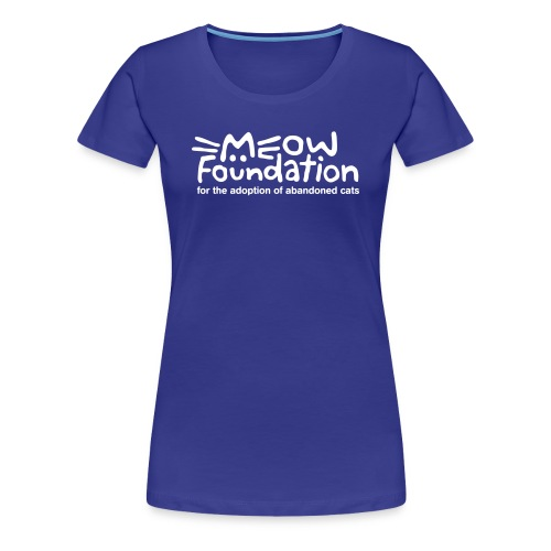 MEOW Foundation Fitted Tee - Women's Premium T-Shirt