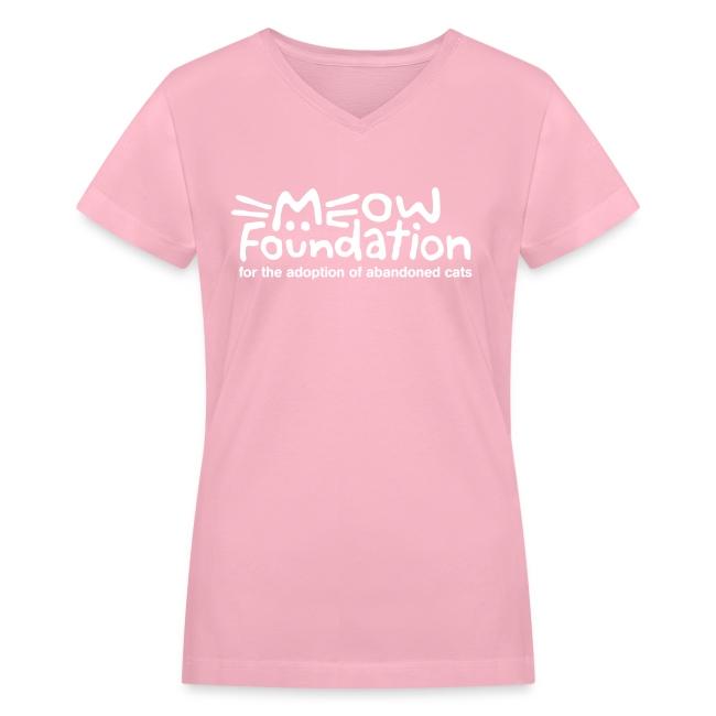MEOW Foundation V-Neck Tee