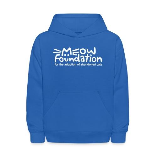 MEOW Foundation Kids Hoodie - Kids' Hoodie