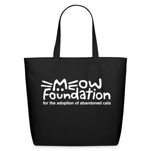 MEOW Foundation Eco Friendly Tote - Eco-Friendly Cotton Tote
