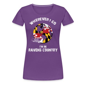 Ravens World Women's - Women's Premium T-Shirt
