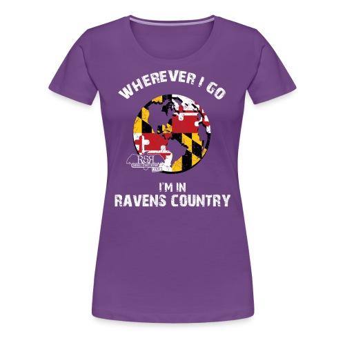 Ravens World Women's - Women's Premium T-Shirt